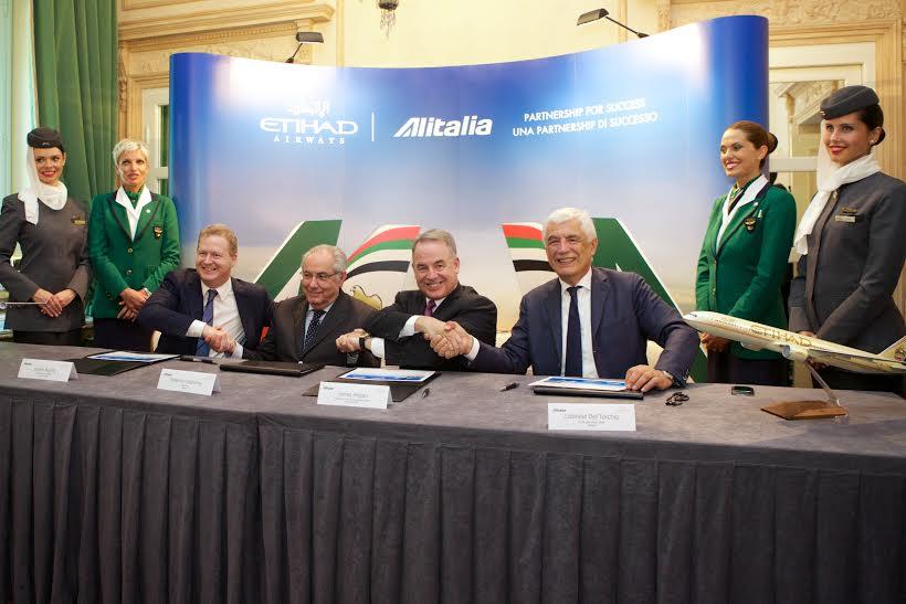 Etihad Alitalia