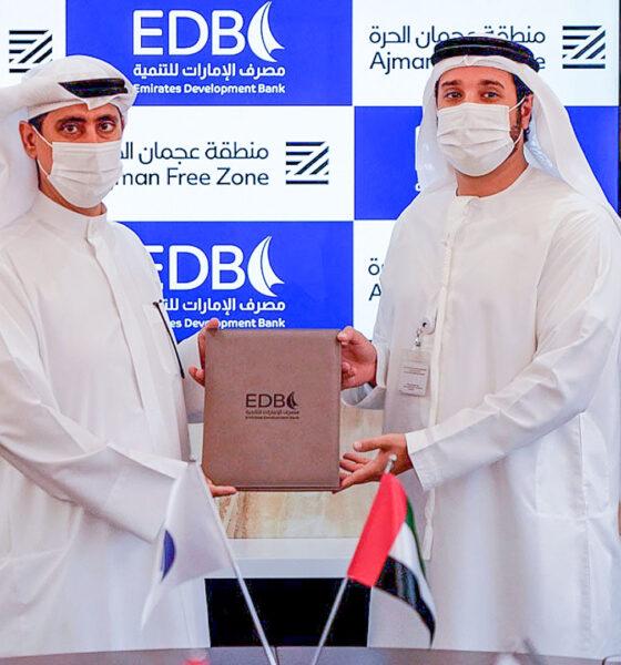 Ajman Free Zone signs MoU with Emirates Development Bank